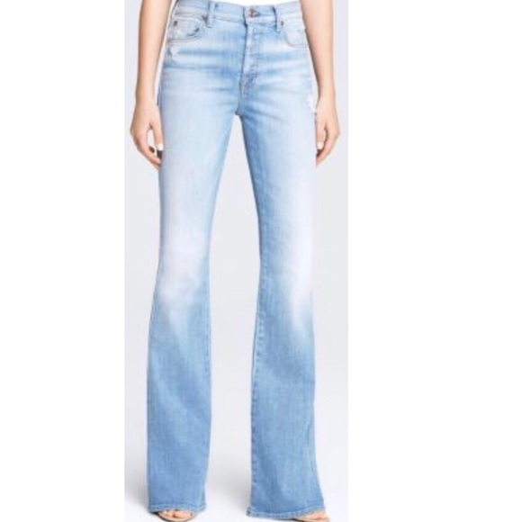 d9737c63d149 7 For All Mankind Denim - 7 For All Mankind High Waist Vintage Bootcut Jeans